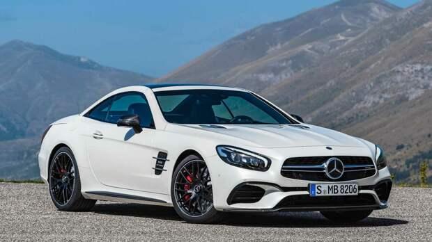 Новый Mercedes-AMG SL станет полноприводным