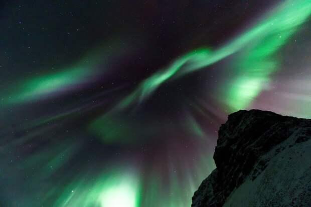 Российские спутники смогут предсказывать северные сияния