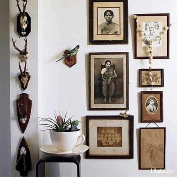 Украшение стен в интерьере
