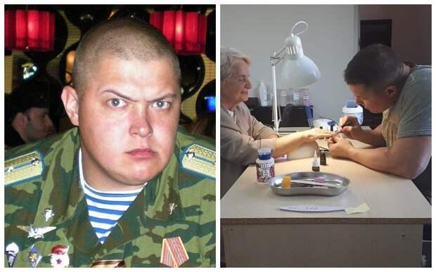 «Записываемся на спецноготочки!» Бывший спецназовец из Краснодара стал мастером маникюра