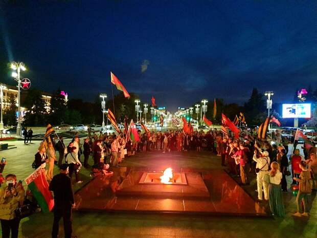 """""""Костьми лягу, но БЧБ-флаг никогда не поднимется над нашей страной"""""""
