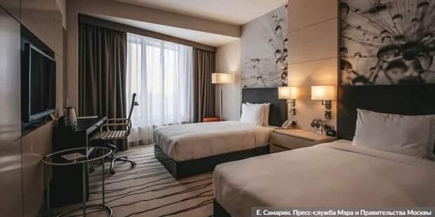 Москва проведет дезинфекцию гостиниц-участниц программы борьбы с COVID-19. Фото: Е.Самарин, mos.ru