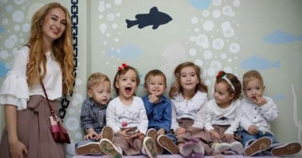 История многодетной одесситки Оксаны Кобелецкой, которую после рождения пяти близнецов предал муж