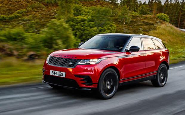 Range Rover Velar - первый тест-драйв