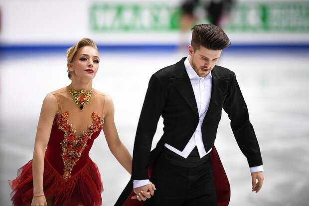 Финал Гран-При по фигурному катанию 2019. Танцы на льду. Ритм-танец. Прямая онлайн-трансляция