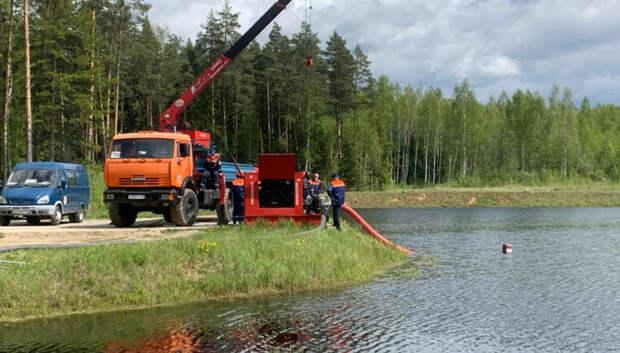 Плановые обводнения торфяников провели в области перед пожароопасным сезоном