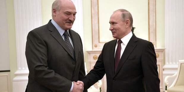 Что сообщили в Кремле о тайной встрече Путина и Лукашенко