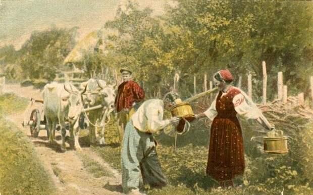 Типы Малороссии. В летний зной. Неизвестный автор, 1900-е, из архива МАММ/МДФ.