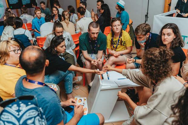Воркшоп? «Лавка навыков»! Молодые творцы на «Тавриде» ищут замену заимствованиям из английского