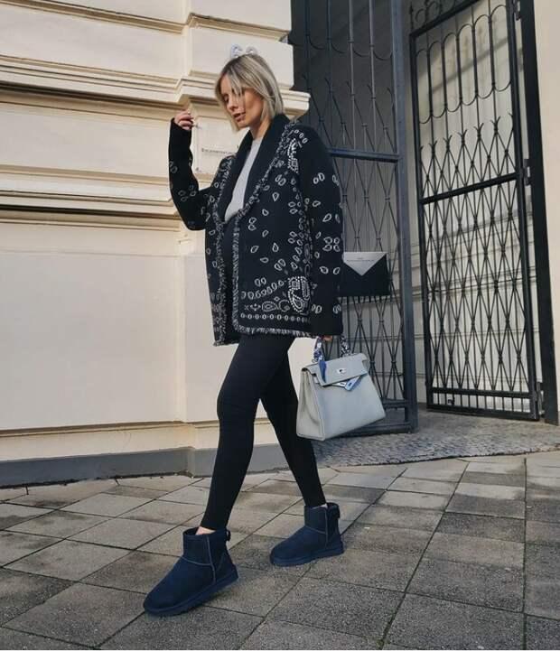 Хотите или нет, но угги – вновь модный тренд: как быть стильной в удобной обуви
