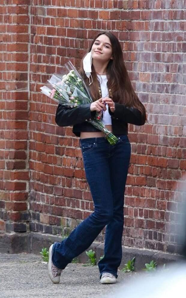 Как выглядит 15-летняя дочь Тома Круза, которую скрывают от папарацци?