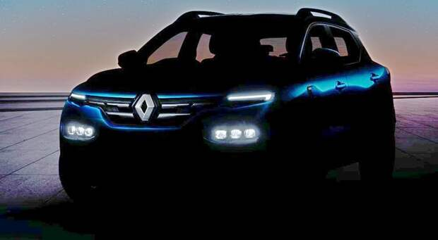 Недорогой паркетник Renault Kiger застукали перед премьерой: подтверждён турбомотор