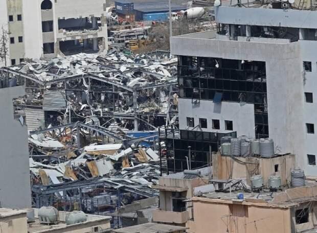 В Бейруте задержали 16 человек после взрыва в порту