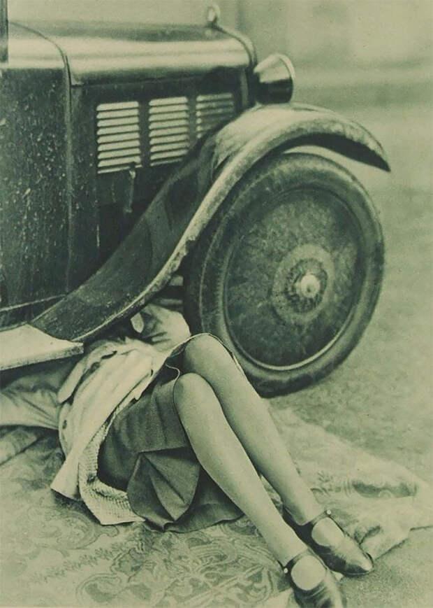 Удивительные фотографии женщин-автомехаников начала 20 века
