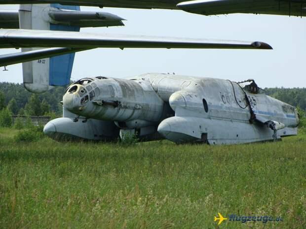 Самолёт-амфибия вертикального взлёта и посадки ВВА-14