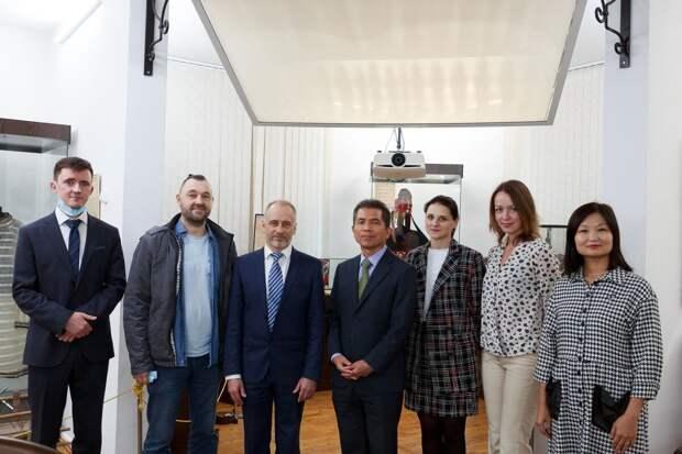 Корейская делегация обсудила с ТГУ партнерство по биотехнологиям