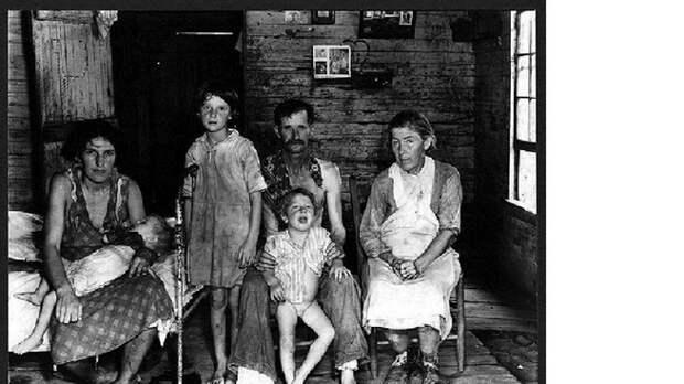 Жертвы Великой Депрессии США. Голодные жертвы Троцкого - Ленина