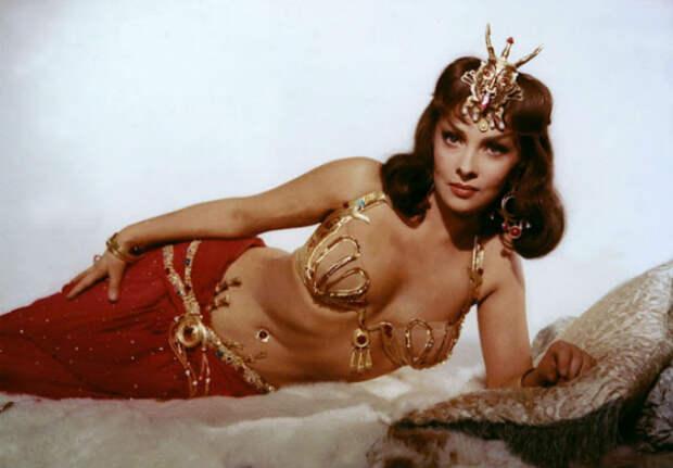 Самая красивая женщина 1960‑х по прозвищу Большой Бюст — Джина Лоллобриджида