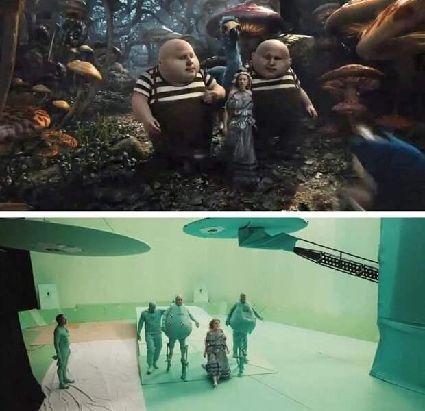 Какбы выглядели фильмы без визуальных эффектов