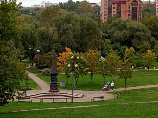 В парке у акведука. Фото Юлии Гагинской