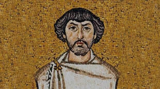 Византийский военачальник Велизарий.