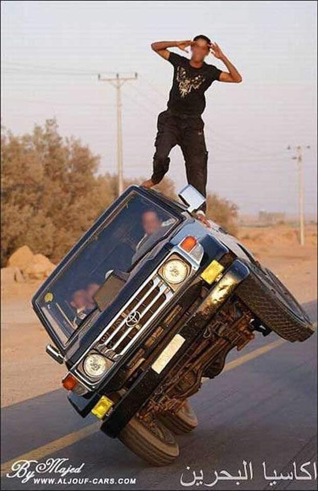 Автомобильный трюк