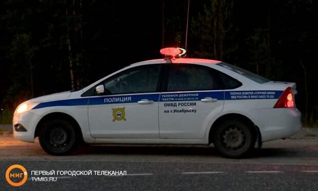 На промзоне Ноябрьска произошла автомобильная авария с пострадавшим