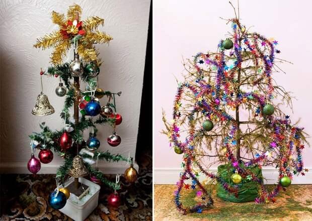 13 самых уродливых новогодних елок