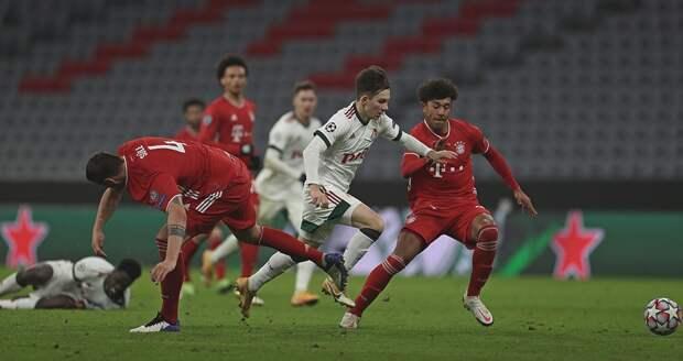 «Бавария» лишила «Локомотив» шанса на выход в Лигу Европы
