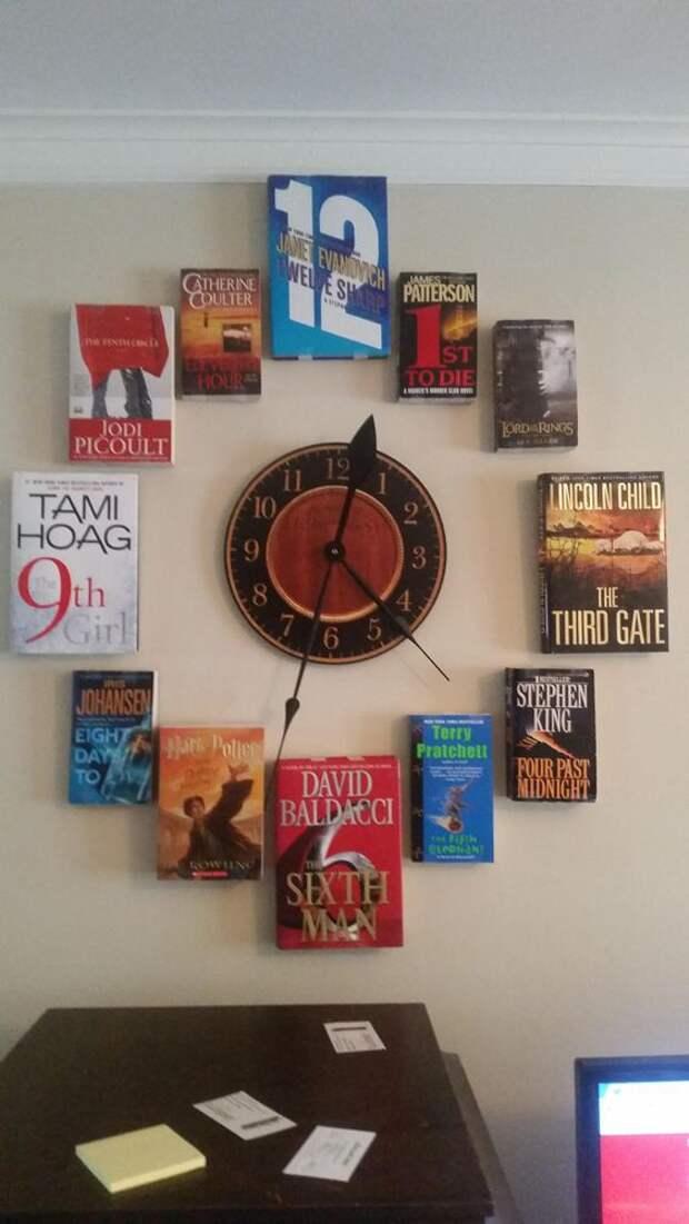 часы книжные книга книги