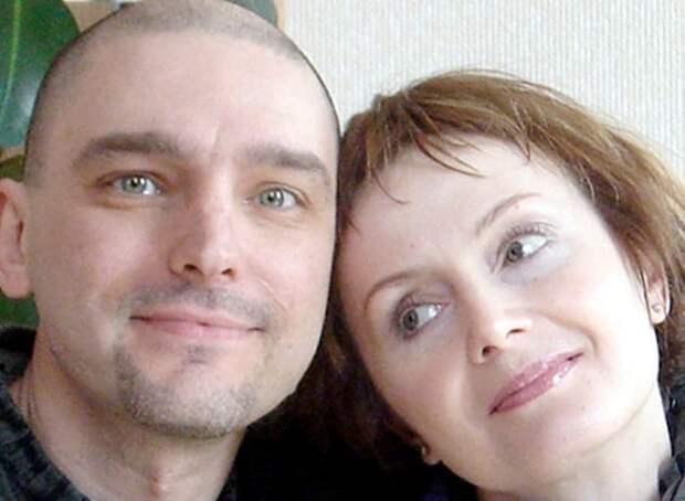 Андрей Державин с женой | Фото: ru.hellomagazine.com