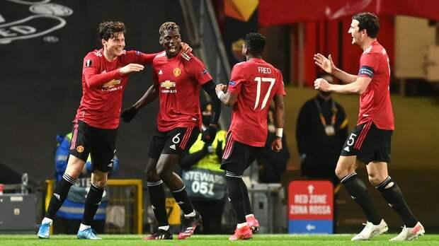 «Манчестер Юнайтед» разгромил «Рому» в первом матче 1/2 финала Лиги Европы