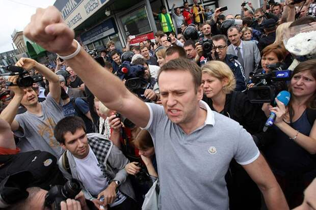 Навальный созывает митинги