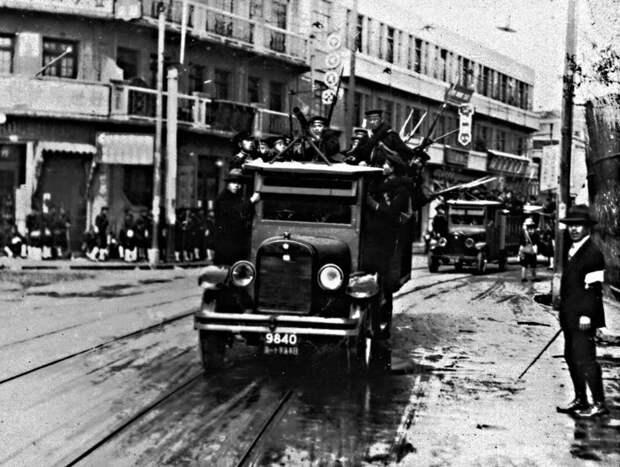 Японский патруль на улице Шанхая axishistory.com - Шанхай-1932: проба сил перед большой войной   Военно-исторический портал Warspot.ru