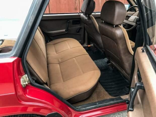 Приличный запас пространства для довольно компактной машины авто, автомобили, ваз, ваз 2109, капсула времени, олдтаймер, ретро авто