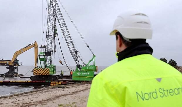 Строительство «Северного потока-2» продлено досентября