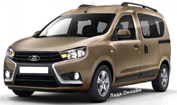 Новая модель Lada: названы сроки выхода «каблучка» Van