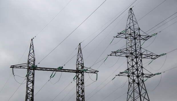 Более 1 км воздушных линий отремонтировали в Мытищах с начала года