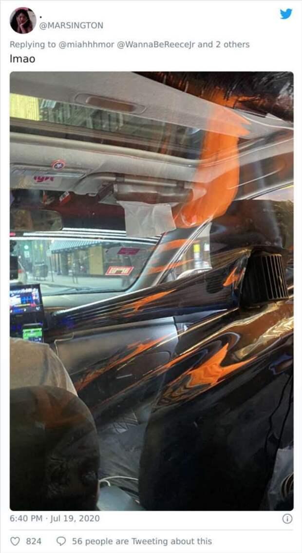 Такси и таксисты во время пандемии