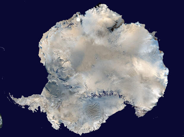 В Антарктиде обнаружен загадочный круг_4
