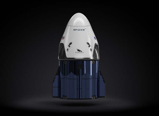 SpaceX впервые запустила астронавтов на космическом корабле Crew Dragon