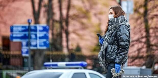 Почти 30 «безмасочников» выявили 5 ноября на ТПУ «Планерная». Фото: М. Денисов mos.ru