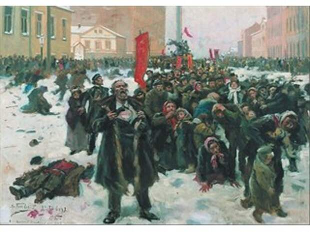 Россия на пути к «Кровавому воскресенью»