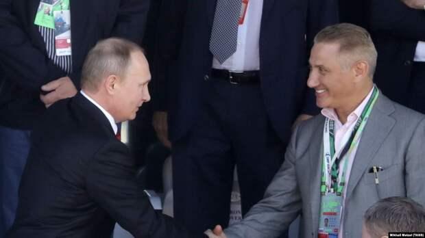 Награда нашла героя. Путин наградил Бориса Ротенберга Орденом Александра Невского