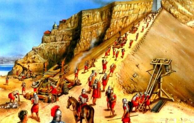 У защитников не было шанса против римских инженеров. ¦Фото: tourpedia.ru.