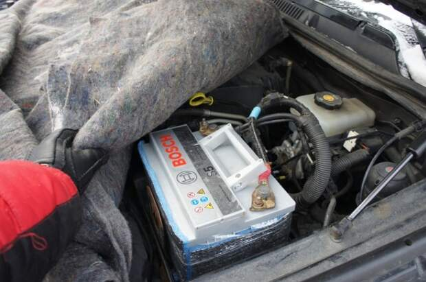 А еще можно укрывать двигатель. /Фото: drive2.com.