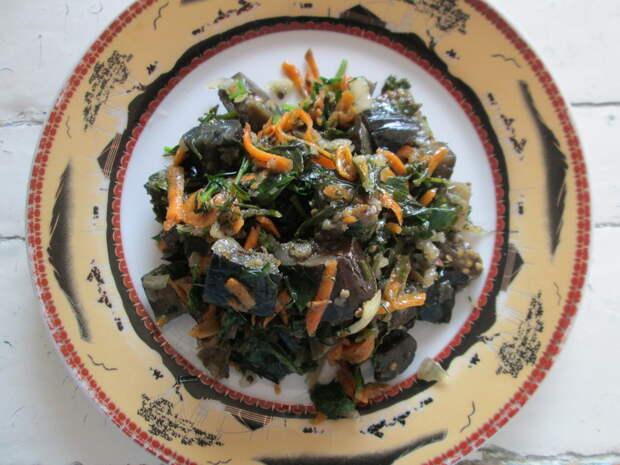 Делюсь семейным рецептом маринованных баклажан