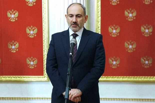 Пашинян потребовал принять меры после срыва его визита на юг Армении