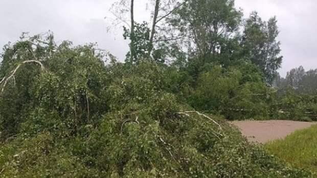 Ураганный ветер снес крыши с домов и школ в Башкирии