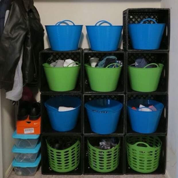 10 полезных идей использования пластиковых ящиков